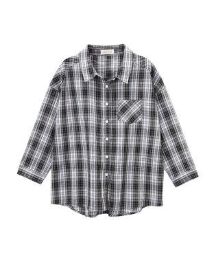 RETRO GIRL オーバーシャツ SB191-WF018