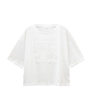RETRO GIRL レース刺繍Tシャツ SB193-WC030