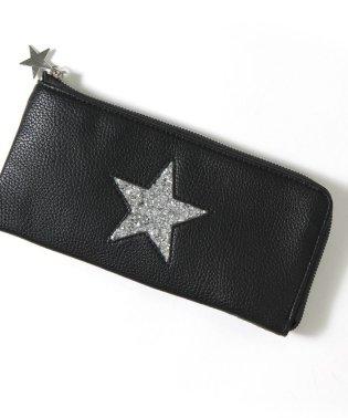 スター薄型L字ファスナー長財布