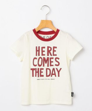 THE DAY:【SHIPS KIDS別注】プリント TEE(100~130cm)