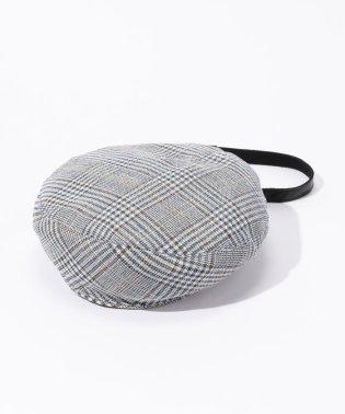 La Maison de Lyllis グレンチェックベレー帽