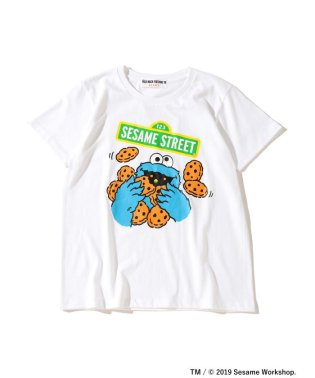FUJI ROCK FESTIVAL'19 × Ray BEAMS / SESAME STREET クッキーモンスター Tシャツ