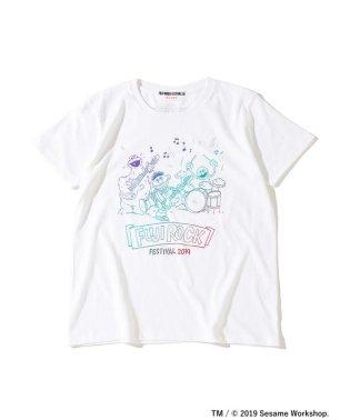 <WOMEN>FUJI ROCK FESTIVAL'19 × Ray BEAMS / SESAME STREET 3ピース Tシャツ