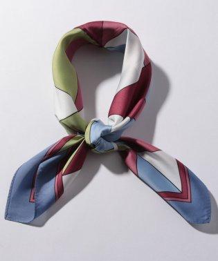 カラーブロックスカーフ