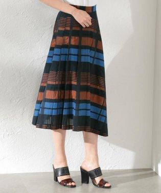 【LOVELESS】WOMEN シアーチェックスカート