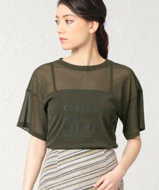 ◆◆レタリングチュールTシャツ