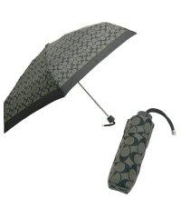 コーチ 傘 アウトレット COACH f63365 ペイトン シグネチャー ミニアンプレラ/折り畳み傘 アンブレラ