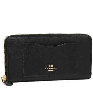 COACH 財布 アウトレット コーチ F54007 クロスグレインレザー アコーディオン ジップウォレット 長財布