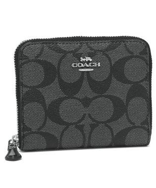 コーチ 財布 アウトレット COACH F30308 IME74 シグネチャー スモール ジップ アラウンド ウォレット レディース 二つ折り財布