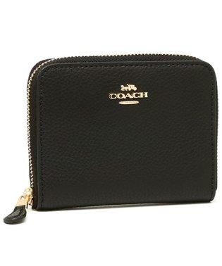 コーチ 財布 アウトレット COACH F24808 スモール ジップ アラウンド ウォレット レディース 二つ折り財布 無地
