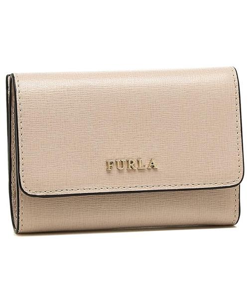 e05fea8ac53c 二つ折り財布 ミニ財布 FURLA バビロン PR85 B30 RUB 財布 BABYLON フルラ レッド系 財布