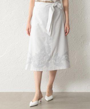 【ウォッシャブル】ダルスラブ刺繍スカート