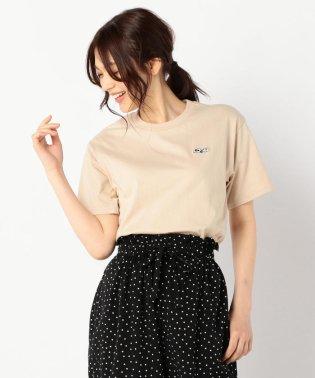 スヌーピーワンポイント刺繍Tシャツ