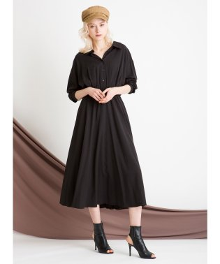 Shirt Gather Dress