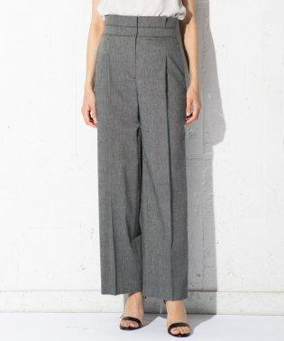 【洗える】Linen Kersey パンツ
