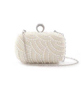 《Maglie collection》エコパールデザインミニショルダーバッグ