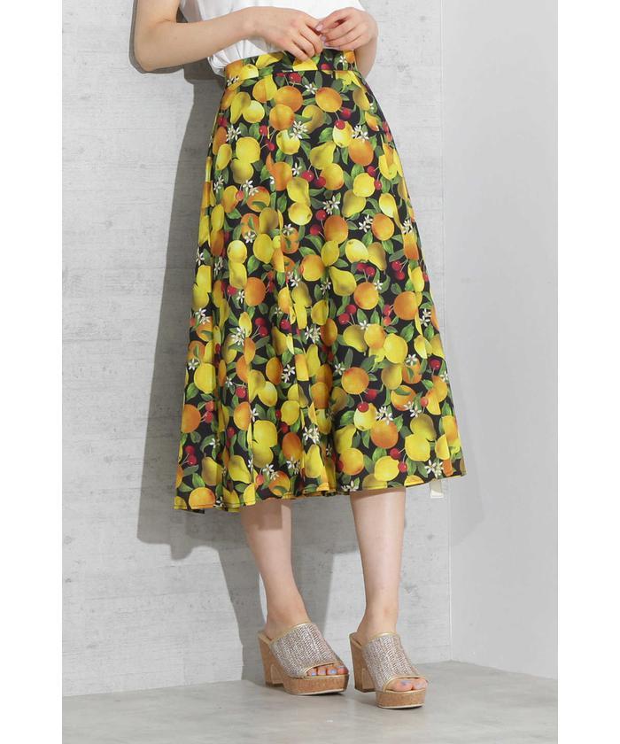《EDIT COLOGNE》フルーツリゾートスカート