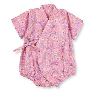 小花柄浴衣オール(70~80cm)