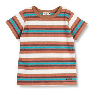 【吸水速乾】マルチボーダー半袖Tシャツ