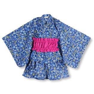 小花柄セパレート浴衣(90~120cm)