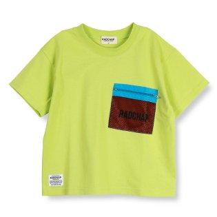 メッシュポケット付き半袖Tシャツ