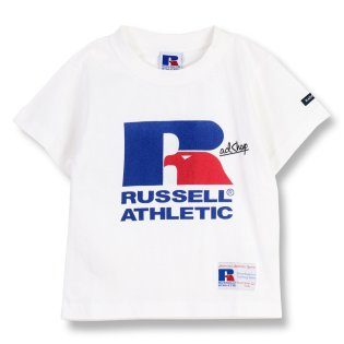 【RUSSELL ATHLETIC×RADCHAP】ロゴTシャツ