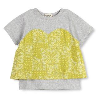ビスチェ風半袖Tシャツ