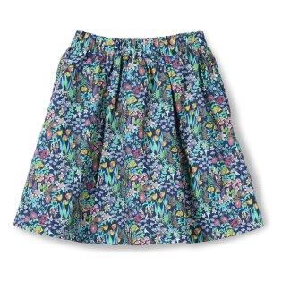 ボタニカル型スカート