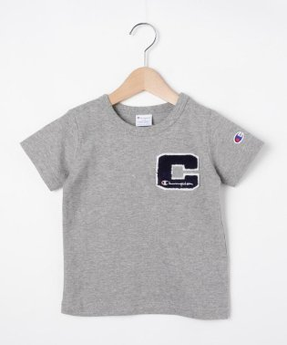 【Champion】100-140cm 「C」ロゴTシャツ