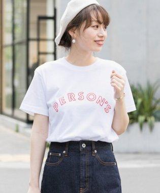 PERSON'S 別注ロゴプリントTシャツ