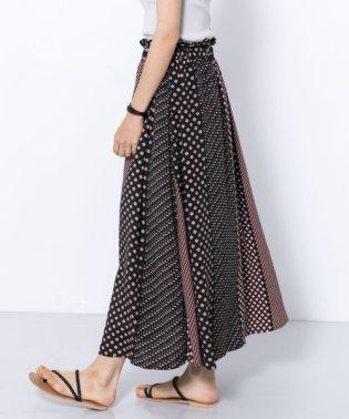 エスニックパターンマキシスカート