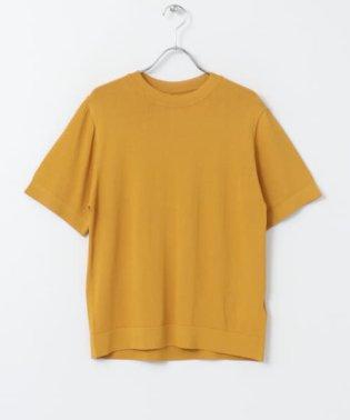クルーネックセーター(5分袖)