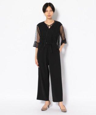 SUGAR ROSE/シュガーローズ/ドットチュールTOPS付きパンツドレス