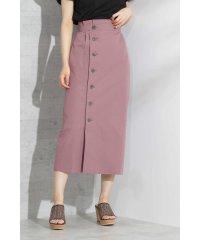《EDIT COLOGNE》フロントボタンロングタイトスカート