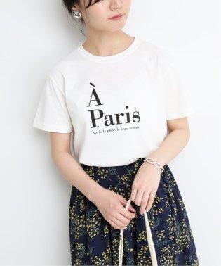 A Paris ロゴTシャツ◆