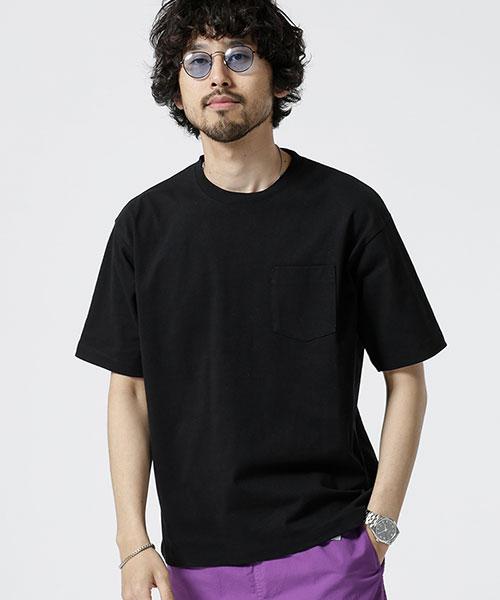 【WEB限定】14S/-天竺ビッグシルエットTシャツ 半袖