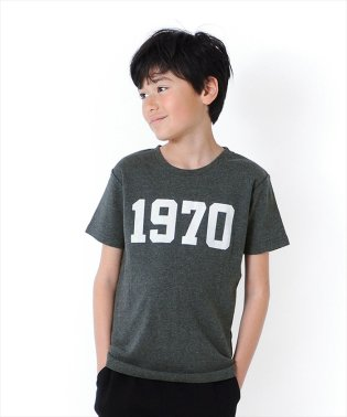 フライスナンバーロゴ半袖Tシャツ