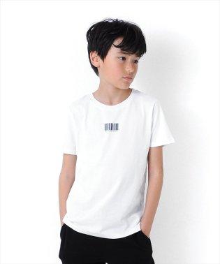 バーコード半袖Tシャツ