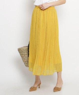 【洗える】揚柳プリーツロングスカート