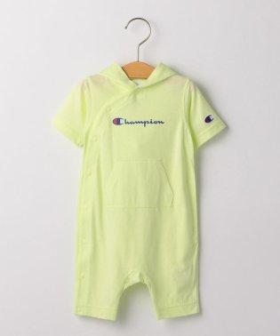 CHAMPION:【SHIPS KIDS別注】フード ロンパース 2