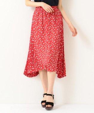 【洗える】マーガレットドットプリーツ プリーツスカート