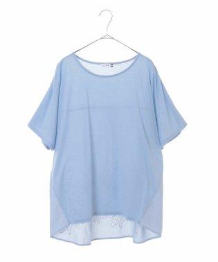 【大きいサイズ】バック刺繍Tシャツ
