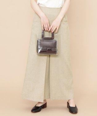 【セットアップ対応商品】CARREMANLINENロングスカート