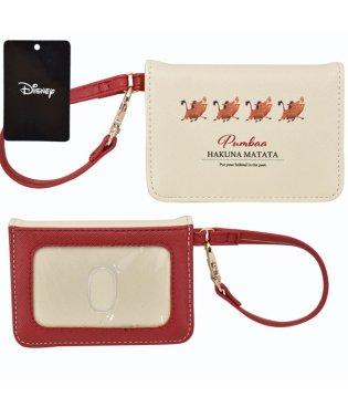 Disney ディズニー ライオンキング Pumbaa プンバァ 2つ折りパスケース パスケース ICカードケース ケース