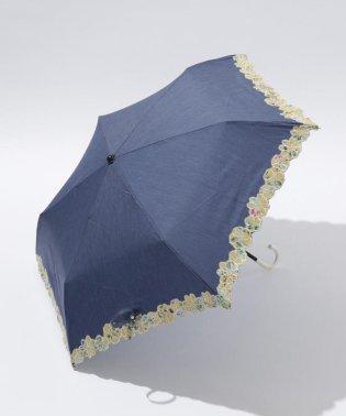 【晴雨兼用】Deveauxブルーム パラソル(長傘・折りたたみ傘)