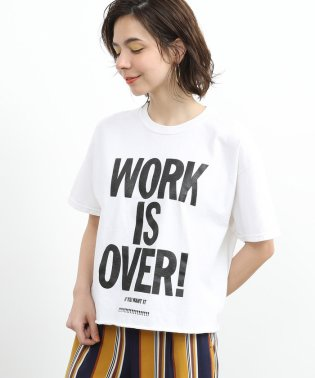 【FUNG】WORK IS OVER TEE