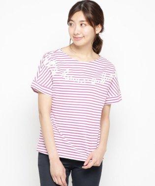 【洗える】マリンボーダーTシャツ