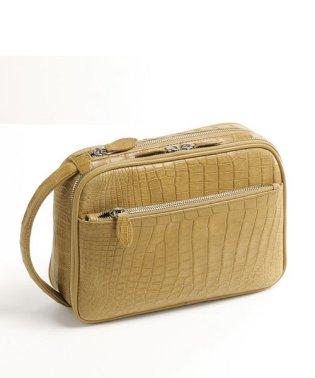 クロコダイル メンズ セカンドバッグ マット 加工 / ハンドバッグ 『クロコダイル保証書付き』