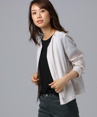 【洗える】シャイニーキュプラ ショートジャケット