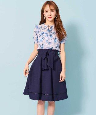 フレアリボンスカート